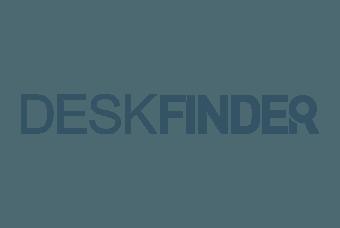 Logo van WP Masters klant Deskfinder