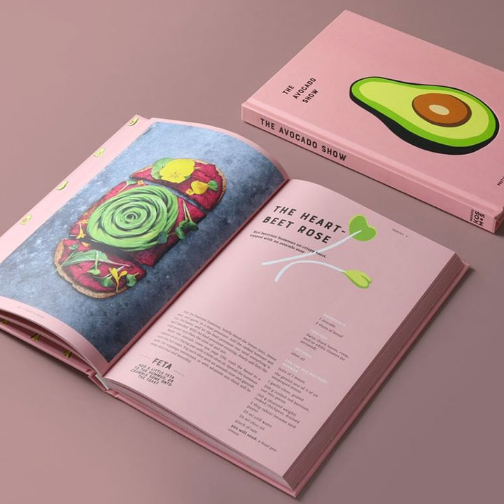 Twee The Avocado Show kookboeken
