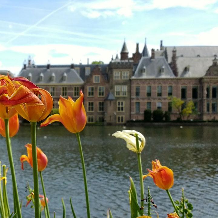 Kantoor van de tweedekamer in Den Haag