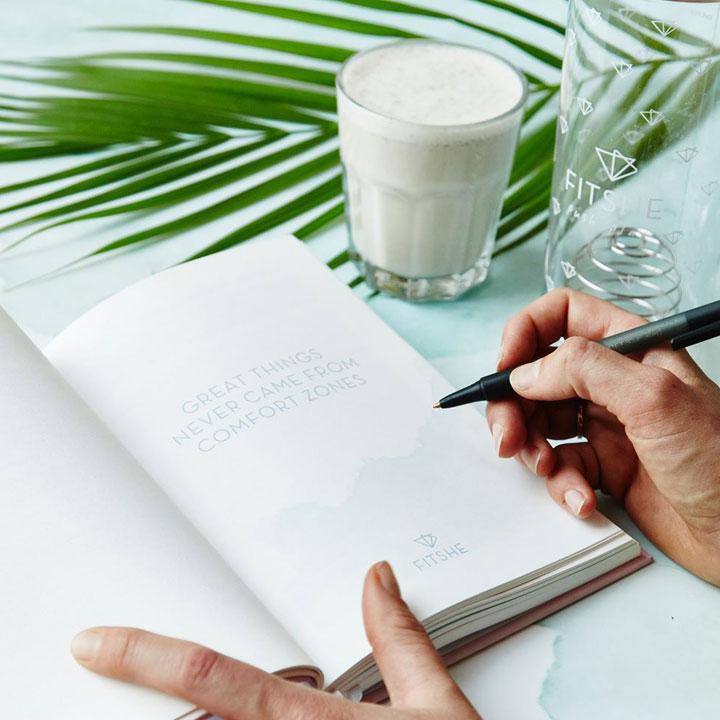 FITSHE notitieboek waar ingeschreven wordt