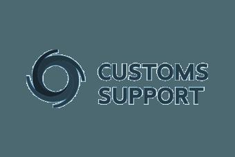 Logo van WP Masters klant Customs Support