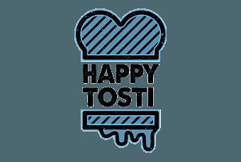 Logo van WP Masters klant Happy Tosti